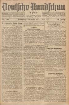 Deutsche Rundschau in Polen : früher Ostdeutsche Rundschau, Bromberger Tageblatt. Jg.51, Nr. 109 (14 Mai 1927) + dod.