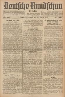 Deutsche Rundschau in Polen : früher Ostdeutsche Rundschau, Bromberger Tageblatt. Jg.51, Nr. 196 (30 August 1927) + dod.