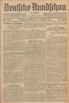 Deutsche Rundschau in Polen : früher Ostdeutsche Rundschau, Bromberger Tageblatt. Jg.51, Nr. 284 (11 Dezember 1927) + dod.
