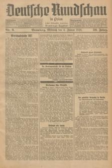 Deutsche Rundschau in Polen : früher Ostdeutsche Rundschau, Bromberger Tageblatt. Jg.52, Nr. 3 (4 Januar 1928) + dod.