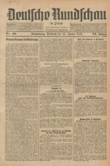 Deutsche Rundschau in Polen : früher Ostdeutsche Rundschau, Bromberger Tageblatt. Jg.52, Nr. 20 (25 Januar 1928) + dod.