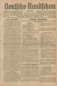 Deutsche Rundschau in Polen : früher Ostdeutsche Rundschau, Bromberger Tageblatt. Jg.52, Nr. 26 (1 Februar 1928) + dod.