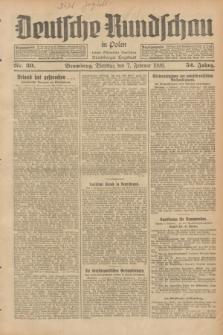 Deutsche Rundschau in Polen : früher Ostdeutsche Rundschau, Bromberger Tageblatt. Jg.52, Nr. 30 (7 Februar 1928) + dod.