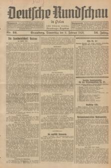Deutsche Rundschau in Polen : früher Ostdeutsche Rundschau, Bromberger Tageblatt. Jg.52, Nr. 32 (9 Februar 1928) + dod.