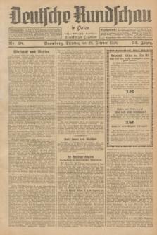 Deutsche Rundschau in Polen : früher Ostdeutsche Rundschau, Bromberger Tageblatt. Jg.52, Nr. 48 (28 Februar 1928) + dod.
