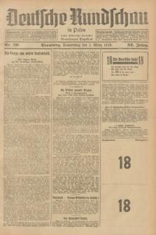 Deutsche Rundschau in Polen : früher Ostdeutsche Rundschau, Bromberger Tageblatt. Jg.52, Nr. 50 (1 März 1928) + dod.