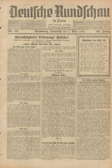 Deutsche Rundschau in Polen : früher Ostdeutsche Rundschau, Bromberger Tageblatt. Jg.52, Nr. 52 (3 März 1928) + dod.