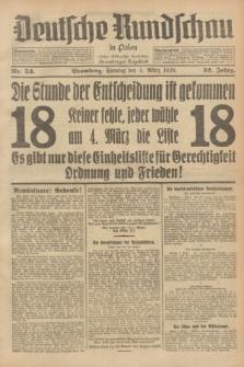 Deutsche Rundschau in Polen : früher Ostdeutsche Rundschau, Bromberger Tageblatt. Jg.52, Nr. 53 (4 März 1928) + dod.