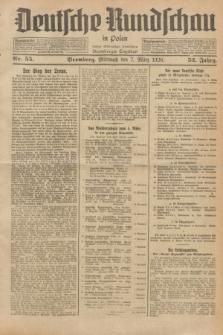 Deutsche Rundschau in Polen : früher Ostdeutsche Rundschau, Bromberger Tageblatt. Jg.52, Nr. 55 (7 März 1928) + dod.
