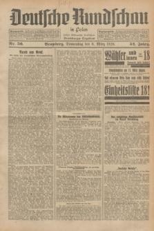 Deutsche Rundschau in Polen : früher Ostdeutsche Rundschau, Bromberger Tageblatt. Jg.52, Nr. 56 (8 März 1928) + dod.