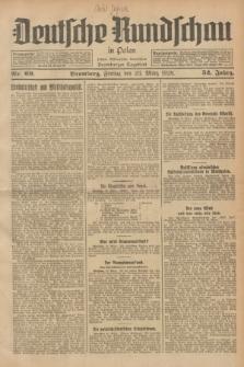 Deutsche Rundschau in Polen : früher Ostdeutsche Rundschau, Bromberger Tageblatt. Jg.52, Nr. 69 (23 März 1928) + dod.