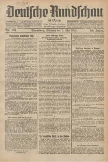 Deutsche Rundschau in Polen : früher Ostdeutsche Rundschau, Bromberger Tageblatt. Jg.52, Nr. 101 (2 Mai 1928) + dod.
