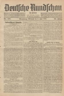 Deutsche Rundschau in Polen : früher Ostdeutsche Rundschau, Bromberger Tageblatt. Jg.52, Nr. 128 (6 Juni 1928) + dod.