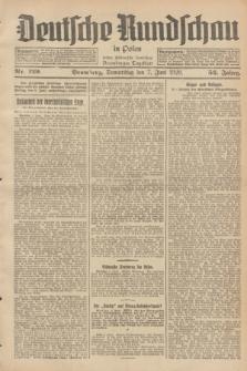 Deutsche Rundschau in Polen : früher Ostdeutsche Rundschau, Bromberger Tageblatt. Jg.52, Nr. 129 (7 Juni 1928) + dod.