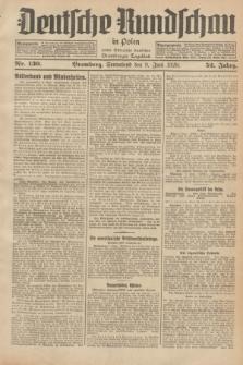 Deutsche Rundschau in Polen : früher Ostdeutsche Rundschau, Bromberger Tageblatt. Jg.52, Nr. 130 (9 Juni 1928) + dod.