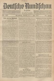 Deutsche Rundschau in Polen : früher Ostdeutsche Rundschau, Bromberger Tageblatt. Jg.52, Nr. 137 (17 Juni 1928) + dod.