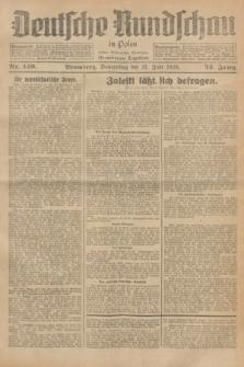 Deutsche Rundschau in Polen : früher Ostdeutsche Rundschau, Bromberger Tageblatt. Jg.52, Nr. 140 (21 Juni 1928) + dod.