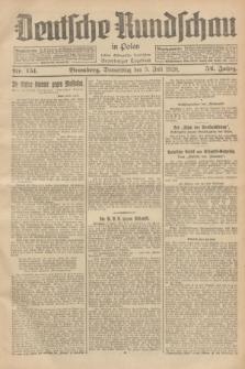 Deutsche Rundschau in Polen : früher Ostdeutsche Rundschau, Bromberger Tageblatt. Jg.52, Nr. 151 (5 Juli 1928) + dod.