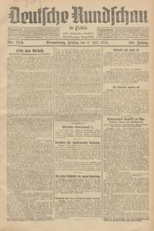 Deutsche Rundschau in Polen : früher Ostdeutsche Rundschau, Bromberger Tageblatt. Jg.52, Nr. 152 (6 Juli 1928) + dod.