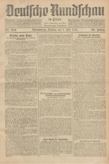 Deutsche Rundschau in Polen : früher Ostdeutsche Rundschau, Bromberger Tageblatt. Jg.52, Nr. 154 (8 Juli 1928) + dod.