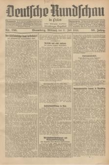 Deutsche Rundschau in Polen : früher Ostdeutsche Rundschau, Bromberger Tageblatt. Jg.52, Nr. 156 (11 Juli 1928) + dod.