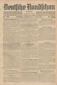 Deutsche Rundschau in Polen : früher Ostdeutsche Rundschau, Bromberger Tageblatt. Jg.52, Nr. 159 (14 Juli 1928) + dod.