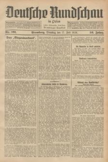 Deutsche Rundschau in Polen : früher Ostdeutsche Rundschau, Bromberger Tageblatt. Jg.52, Nr. 161 (17 Juli 1928) + dod.