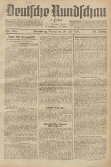 Deutsche Rundschau in Polen : früher Ostdeutsche Rundschau, Bromberger Tageblatt. Jg.52, Nr. 164 (20 Juli 1928) + dod.