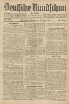 Deutsche Rundschau in Polen : früher Ostdeutsche Rundschau, Bromberger Tageblatt. Jg.52, Nr. 166 (22 Juli 1928) + dod.