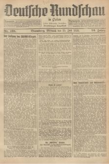 Deutsche Rundschau in Polen : früher Ostdeutsche Rundschau, Bromberger Tageblatt. Jg.52, Nr. 168 (25 Juli 1928) + dod.