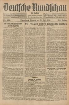 Deutsche Rundschau in Polen : früher Ostdeutsche Rundschau, Bromberger Tageblatt. Jg.52, Nr. 172 (29 Juli 1928) + dod.