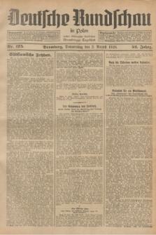 Deutsche Rundschau in Polen : früher Ostdeutsche Rundschau, Bromberger Tageblatt. Jg.52, Nr. 175 (2 August 1928) + dod.
