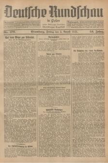 Deutsche Rundschau in Polen : früher Ostdeutsche Rundschau, Bromberger Tageblatt. Jg.52, Nr. 176 (3 August 1928) + dod.
