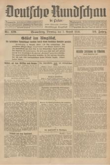 Deutsche Rundschau in Polen : früher Ostdeutsche Rundschau, Bromberger Tageblatt. Jg.52, Nr. 179 (7 August 1928) + dod.