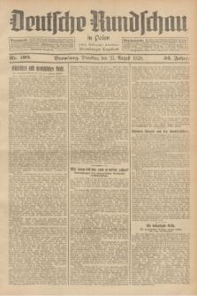 Deutsche Rundschau in Polen : früher Ostdeutsche Rundschau, Bromberger Tageblatt. Jg.52, Nr. 190 (21 August 1928) + dod.