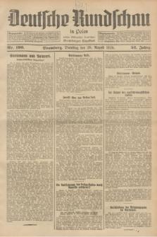 Deutsche Rundschau in Polen : früher Ostdeutsche Rundschau, Bromberger Tageblatt. Jg.52, Nr. 196 (28 August 1928) + dod.
