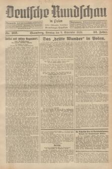 Deutsche Rundschau in Polen : früher Ostdeutsche Rundschau, Bromberger Tageblatt. Jg.52, Nr. 207 (9 September 1928) + dod.