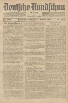 Deutsche Rundschau in Polen : früher Ostdeutsche Rundschau, Bromberger Tageblatt. Jg.52, Nr. 208 (11 September 1928) + dod.
