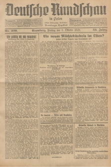 Deutsche Rundschau in Polen : früher Ostdeutsche Rundschau, Bromberger Tageblatt. Jg.52, Nr. 229 (5 Oktober 1928) + dod.