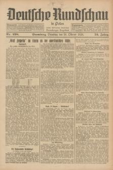 Deutsche Rundschau in Polen : früher Ostdeutsche Rundschau, Bromberger Tageblatt. Jg.52, Nr. 238 (16 Oktober 1928) + dod.
