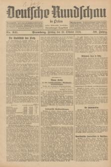 Deutsche Rundschau in Polen : früher Ostdeutsche Rundschau, Bromberger Tageblatt. Jg.52, Nr. 241 (19 Oktober 1928) + dod.