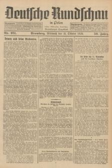 Deutsche Rundschau in Polen : früher Ostdeutsche Rundschau, Bromberger Tageblatt. Jg.52, Nr. 251 (31 Oktober 1928) + dod.