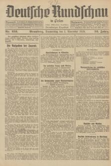 Deutsche Rundschau in Polen : früher Ostdeutsche Rundschau, Bromberger Tageblatt. Jg.52, Nr. 252 (1 November 1928) + dod.