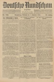 Deutsche Rundschau in Polen : früher Ostdeutsche Rundschau, Bromberger Tageblatt. Jg.52, Nr. 256 (7 November 1928) + dod.