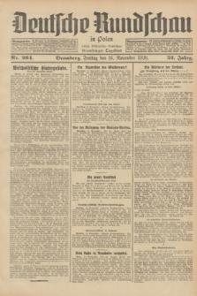 Deutsche Rundschau in Polen : früher Ostdeutsche Rundschau, Bromberger Tageblatt. Jg.52, Nr. 264 (16 November 1928) + dod.