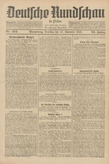 Deutsche Rundschau in Polen : früher Ostdeutsche Rundschau, Bromberger Tageblatt. Jg.52, Nr. 273 (27 November 1928) + dod.