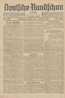 Deutsche Rundschau in Polen : früher Ostdeutsche Rundschau, Bromberger Tageblatt. Jg.52, Nr. 278 (2 Dezember 1928) + dod.