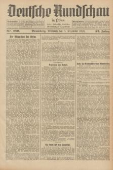 Deutsche Rundschau in Polen : früher Ostdeutsche Rundschau, Bromberger Tageblatt. Jg.52, Nr. 280 (5 Dezember 1928) + dod.