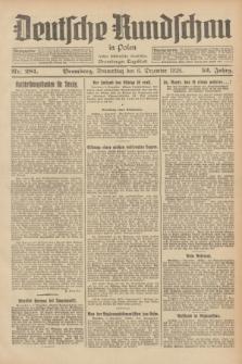 Deutsche Rundschau in Polen : früher Ostdeutsche Rundschau, Bromberger Tageblatt. Jg.52, Nr. 281 (6 Dezember 1928) + dod.