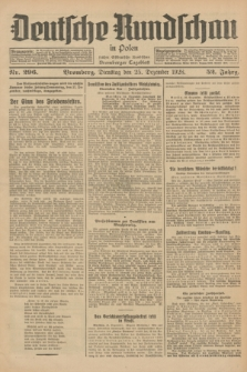 Deutsche Rundschau in Polen : früher Ostdeutsche Rundschau, Bromberger Tageblatt. Jg.52, Nr. 296 (25 Dezember 1928) + dod.